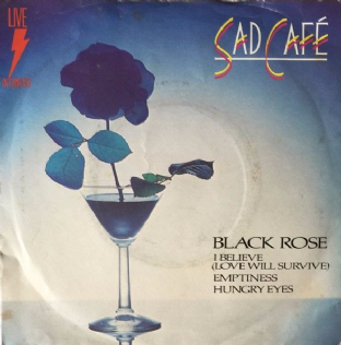 "Sad Cafe ‎- Live In Concert EP (7"") (VG/G++)"